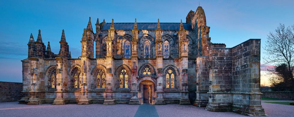 Rosslyn Chapel, Luxury Tours to Europe and UK