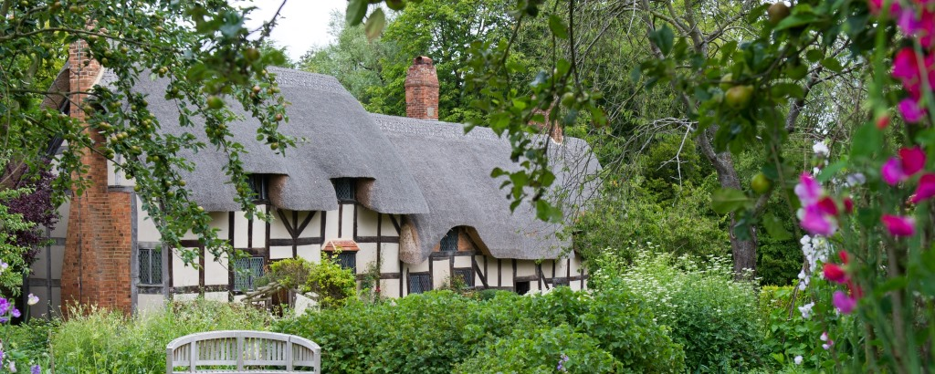 Anne Hathaway's Cottage, England